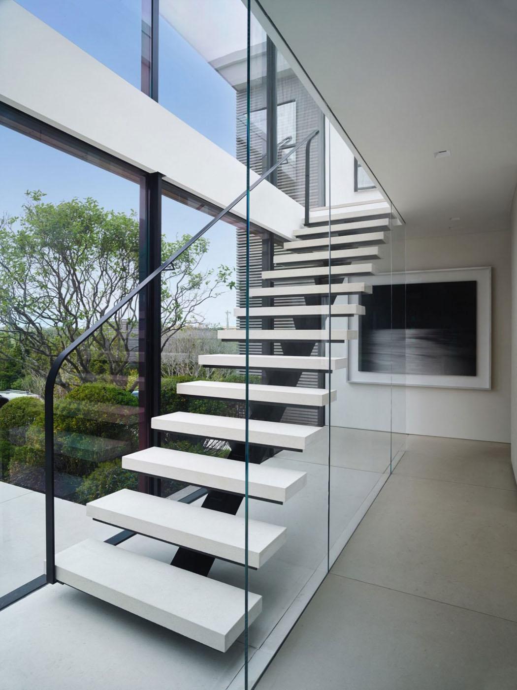 Escalier Interieur Maison Moderne une belle maison de vacances près de new york à l