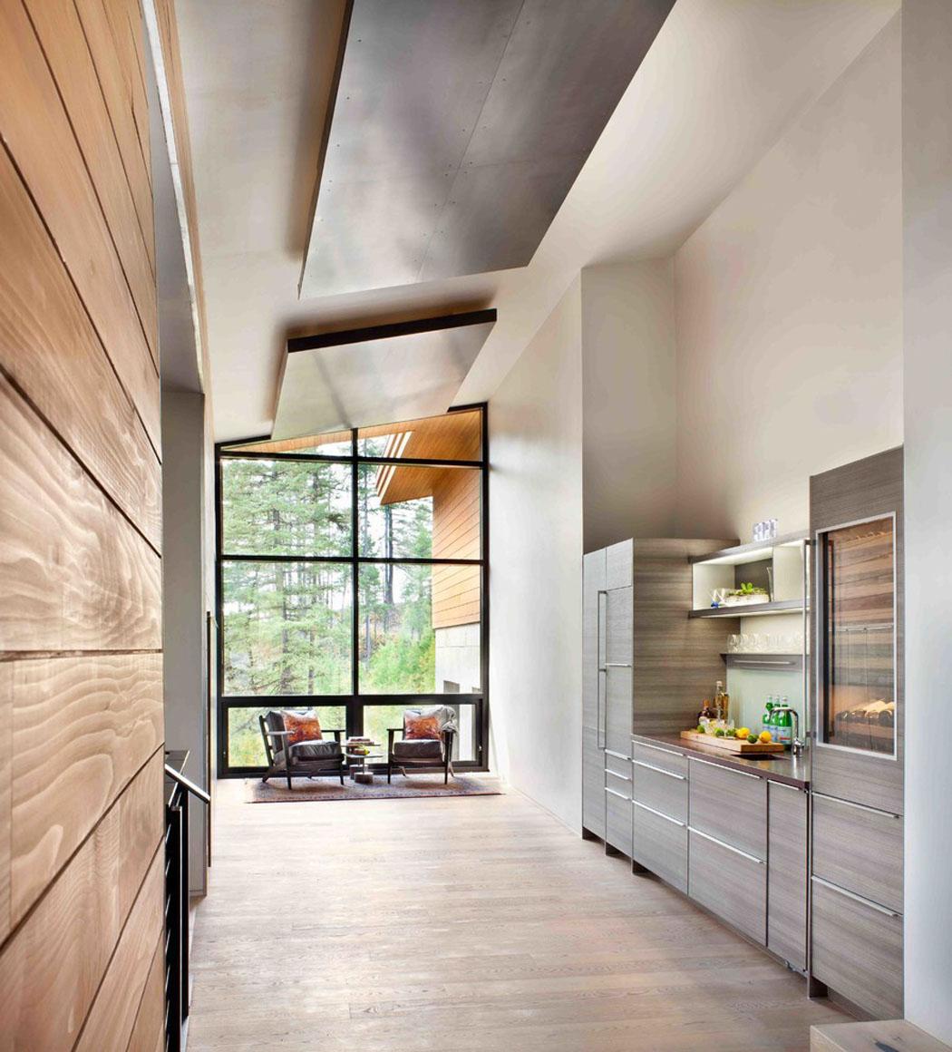 moderne maison rustique l architecture et agencement cr atif au montana vivons maison. Black Bedroom Furniture Sets. Home Design Ideas