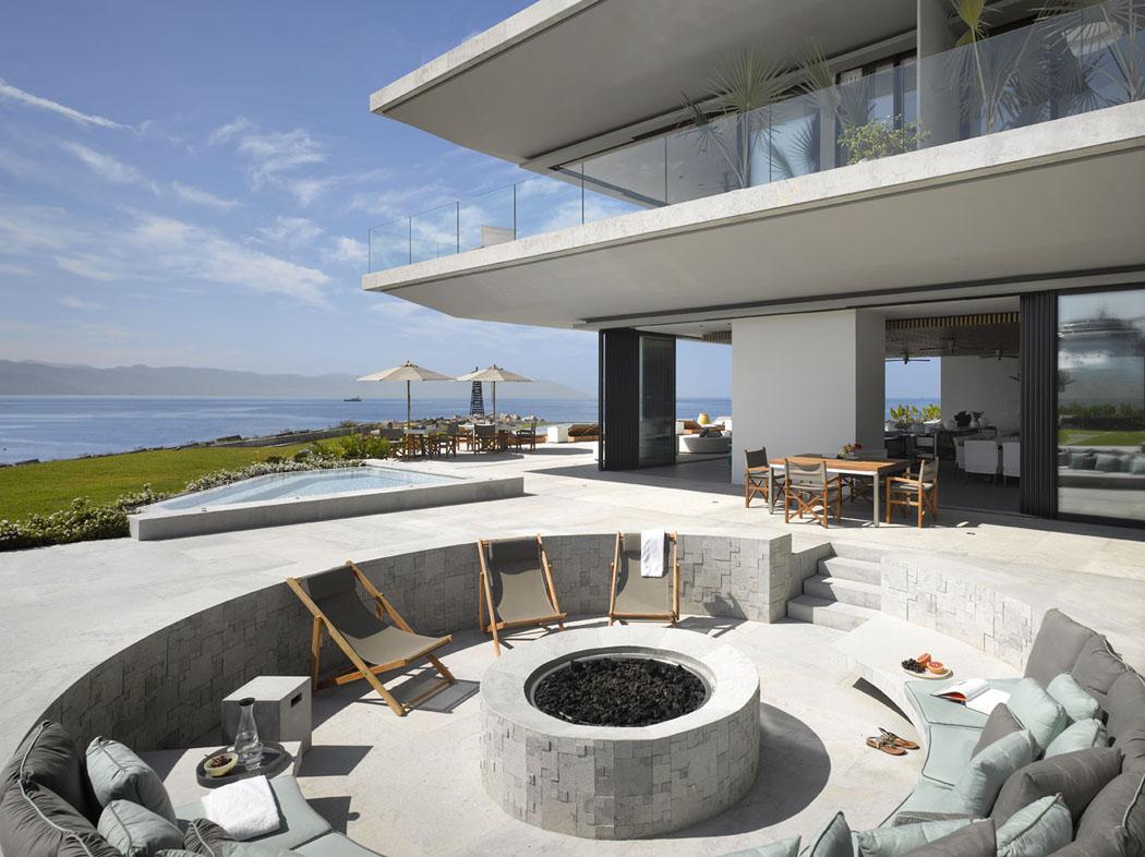Maison neuve avec vue sur l eau l architecture inspir e for Exterieur maison neuve
