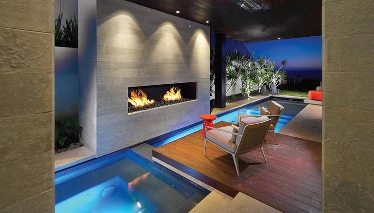 Contemporaine maison de vacances familiale sur la c te californienne vivons maison for Maison moderne de luxe avec piscine