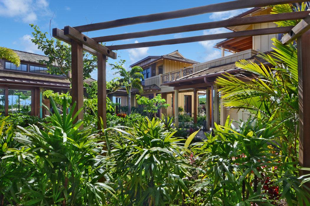 Luxuriant Jardin, Verdure Tropical Pour Une Villa De Rêve à Hawaï