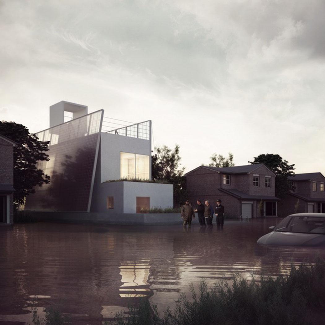 Mi maison écologique mi bateau une proposition verte de maison passive