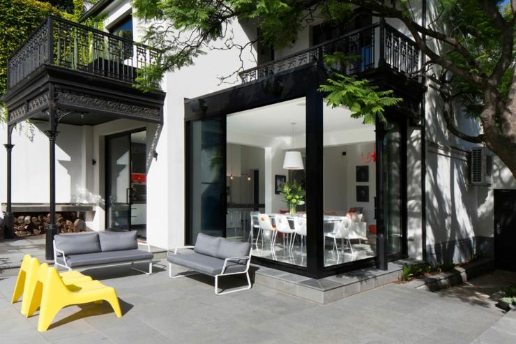 terrasse sympa amnage de cette maison de ville - Maison Moderne Ville