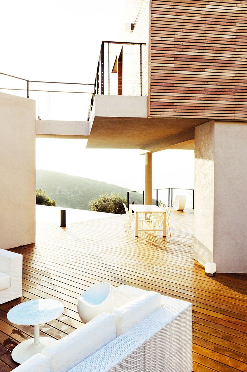 Moderne et originale maison d'architecte à monaco avec une ...