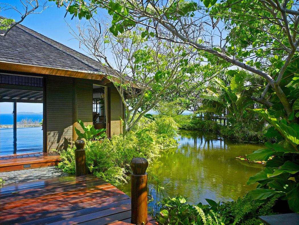 Originale villa de vacances sur la c te du sud des tats unis vivons maison - Villa de reve pineapple jamaique ...