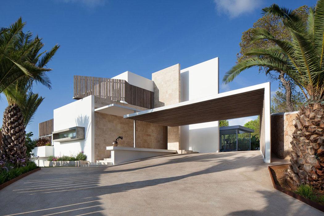 Magnifique r sidence de standing dans les hauteurs d ibiza - Residence de vacances gedney architecte ...
