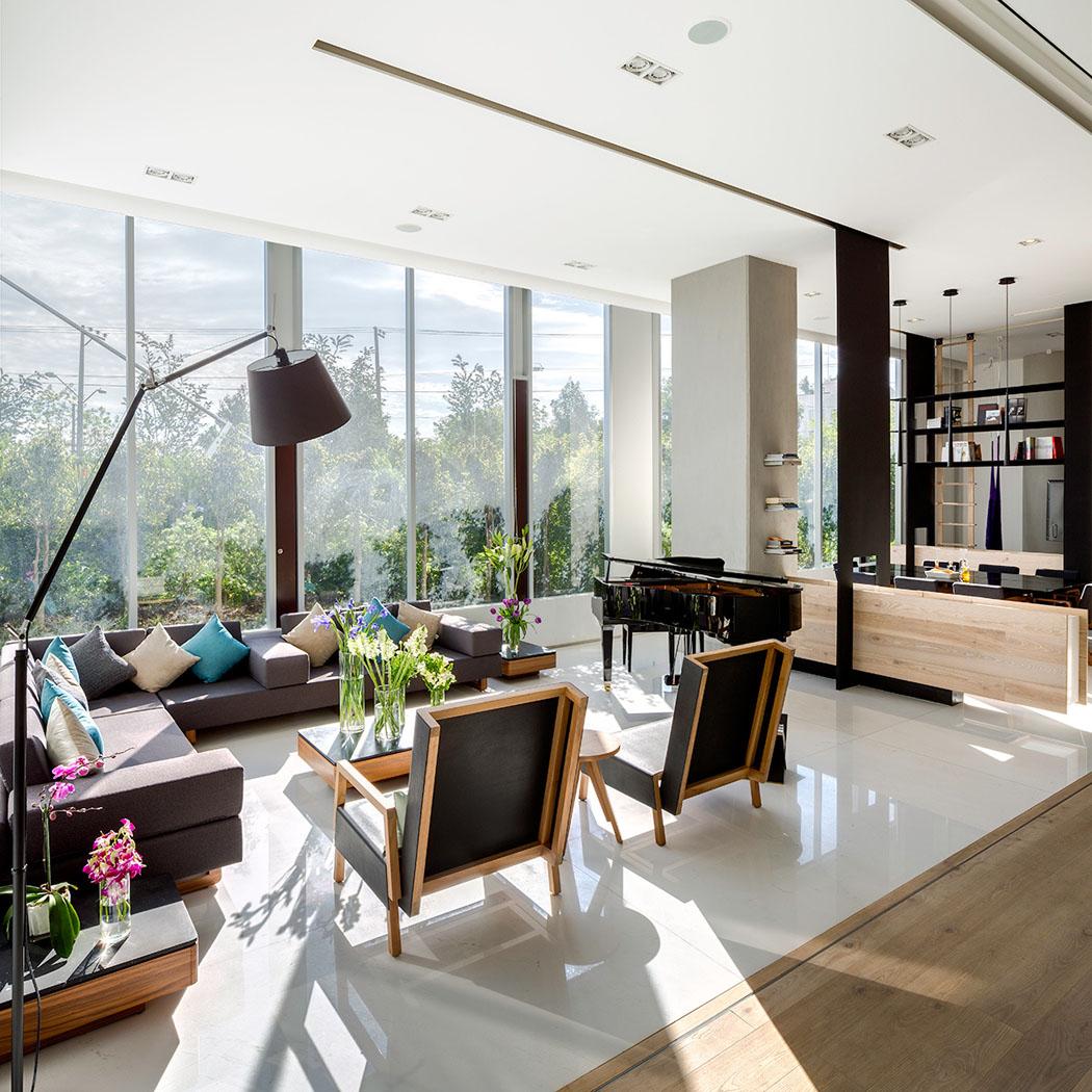 un appartement de standing moderne au c ur de la capitale mexicaine vivons maison. Black Bedroom Furniture Sets. Home Design Ideas