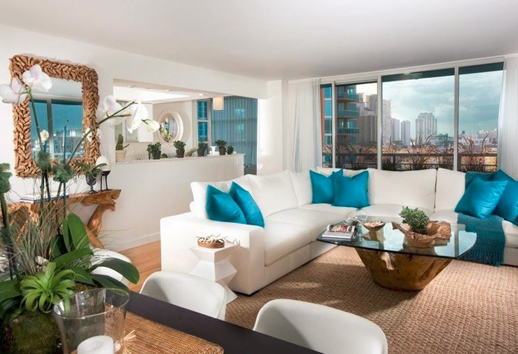 Appartement de vacances inspir par la beaut de la vue - Residence de vacances contemporaine miami ...