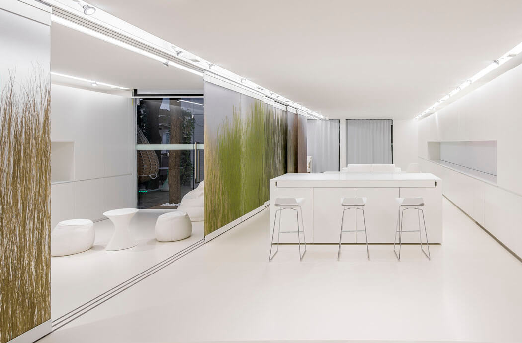 Appartement design futuriste du minimalisme pouss la for Appartement design tours