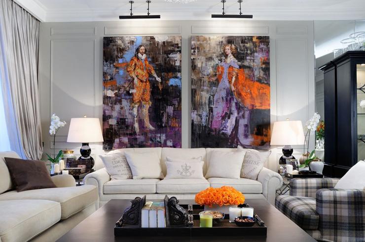 Appartement moderne au design l gant moscou vivons maison for Appartement de ville