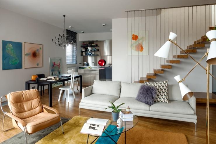 appartement moderne l int rieur design en pologne vivons maison. Black Bedroom Furniture Sets. Home Design Ideas