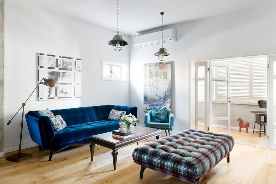 un joli appartement moderne pour une famille de quatre refait neuf tel aviv vivons maison. Black Bedroom Furniture Sets. Home Design Ideas