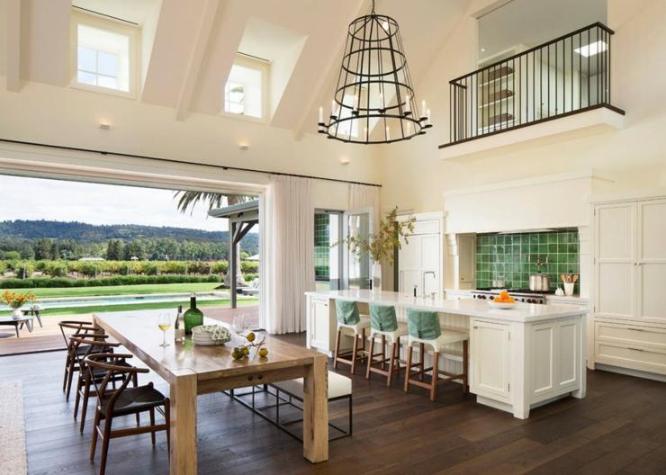 Belle demeure dans les terres californiennes vivons maison for Modern family house 90210