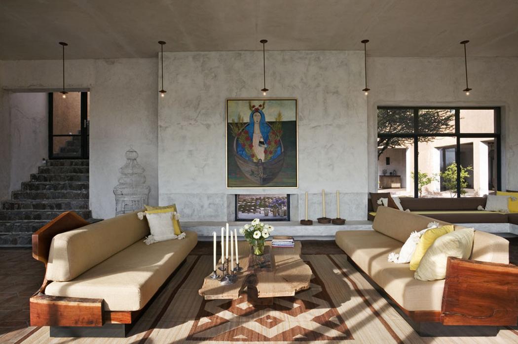 Location de vacances au design rustique au c ur de mexique - Maison de vacances christopher design ...