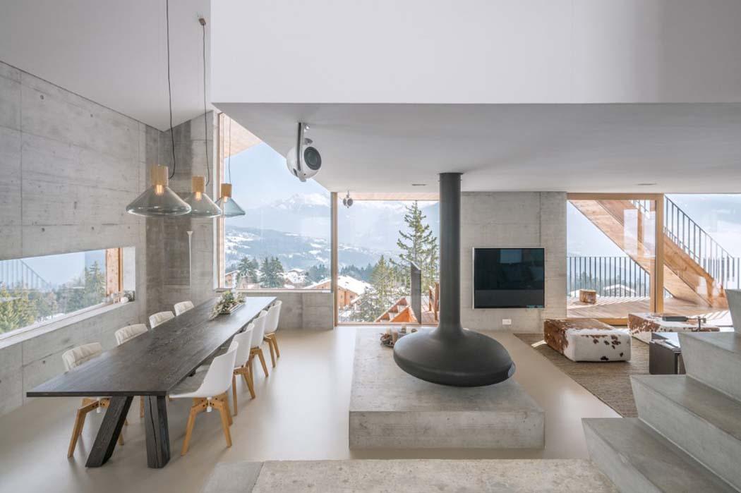 Un minimaliste et clectique design int rieur pour ce for Architecture et design interieur