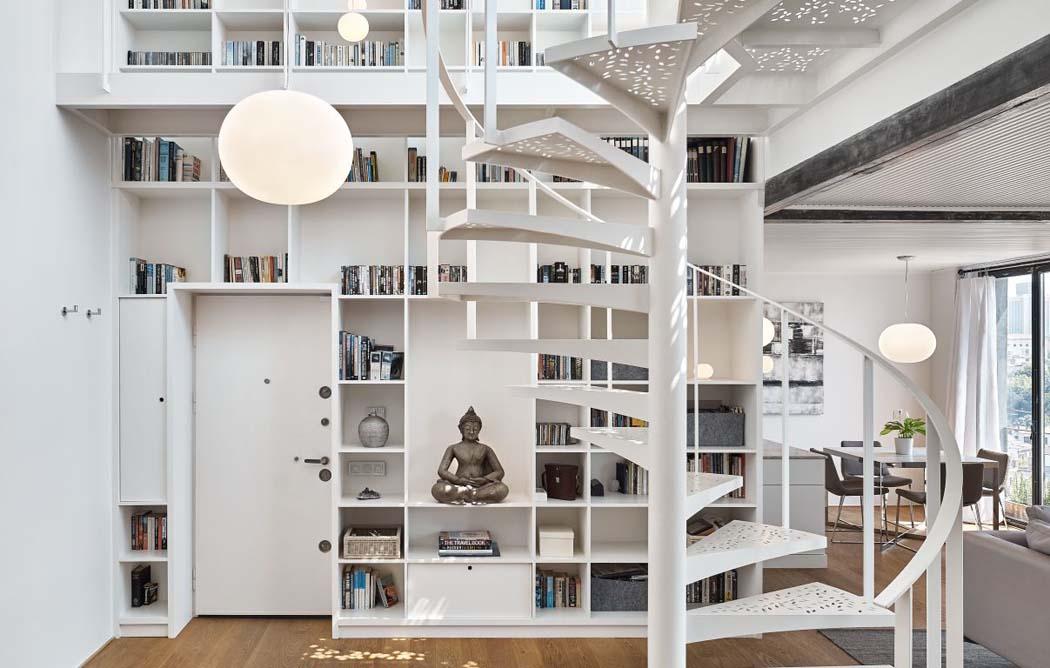 Moderne et minimaliste design pour cet appartement avec for Architecture eclectique