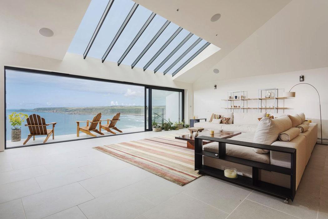 Belle maison location de vacances cornwall avec vue - Maison de vacances christopher design ...