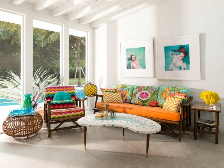 Maison l int rieur clectique et joyeux en floride for Ma maison decoration interieur