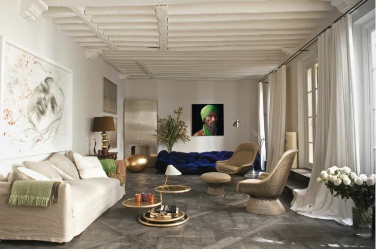Superbe maison ancienne au c ur de paris vivons maison for Maison ancienne renovee contemporaine