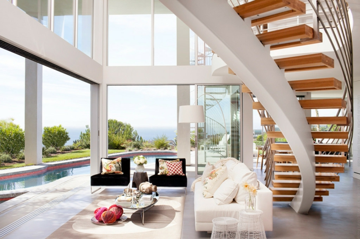 Maison d architecte par dupuis design en californie for Amenagement interieur maison contemporaine