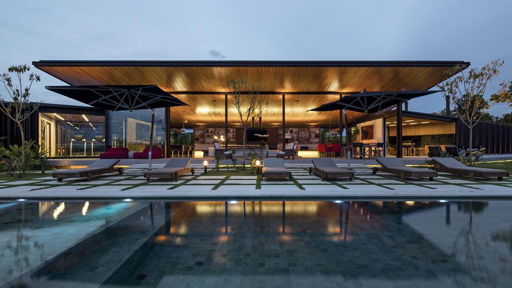 Belle Maison Contemporaine A L Architecture Creative Pres De Sao Paolo Vivons Maison