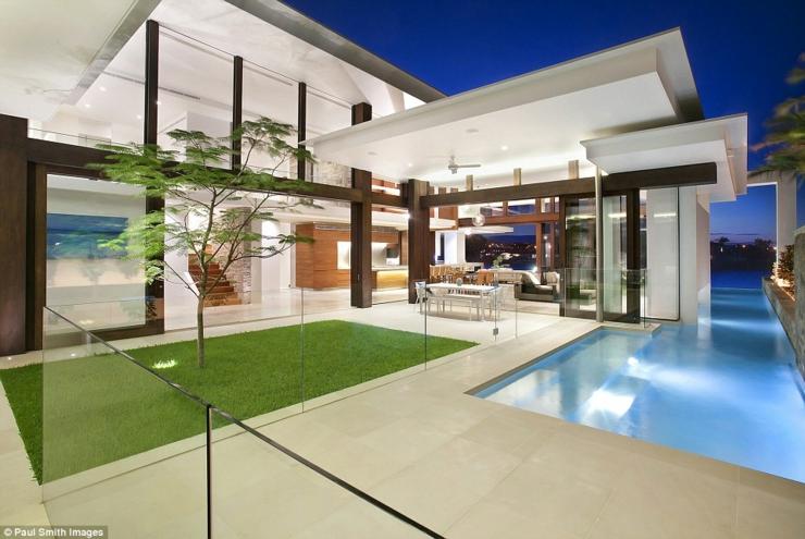 Magnifique maison d architecte en australie vivons maison for Maison architecte design