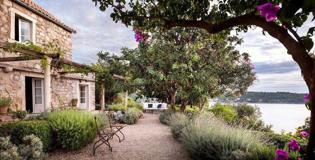 La r sidence de campagne chic et l gante villa san - La contemporaine residence de plage las palmeras ...