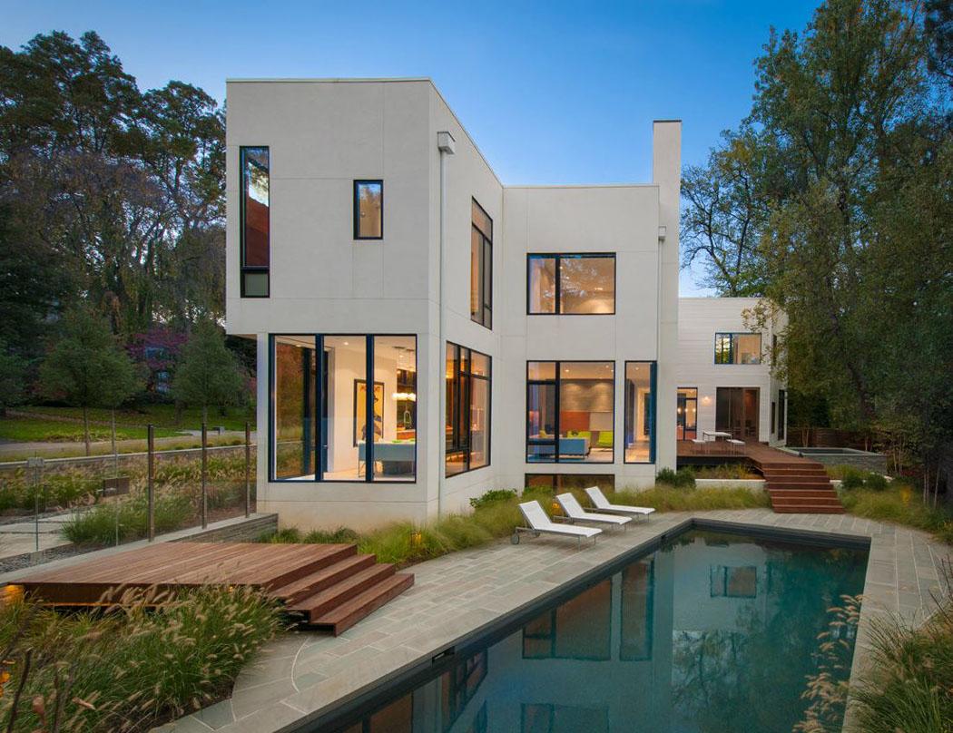 belle maison modulaire contemporaine washington dc. Black Bedroom Furniture Sets. Home Design Ideas