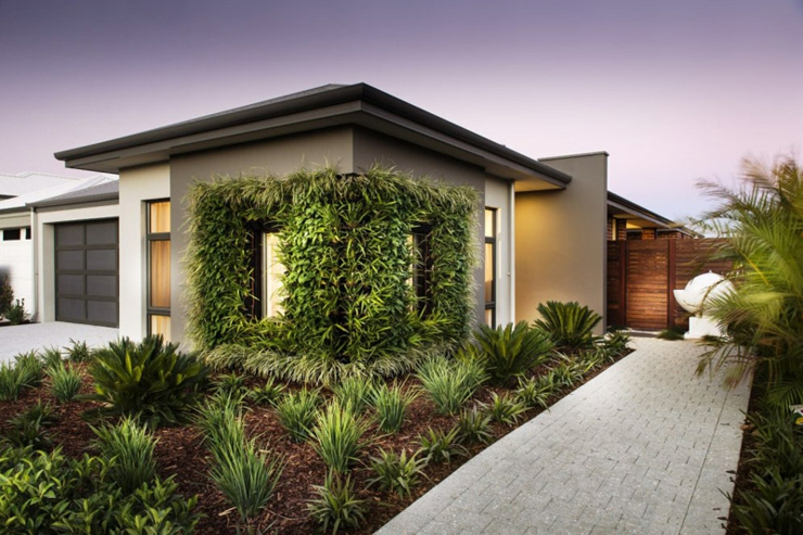 Concept unique d une maison verte et ensoleill e vivons for Temperature d une maison