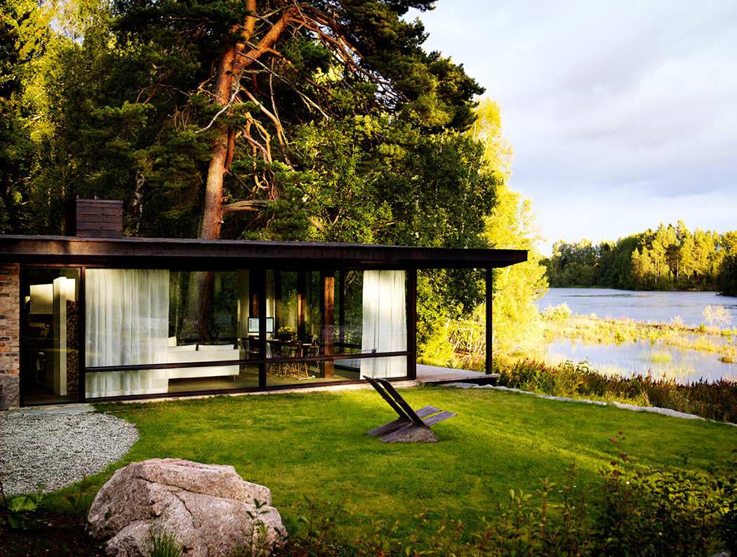 int ressante et originale maison d architecte de plain pied en su de vivons maison. Black Bedroom Furniture Sets. Home Design Ideas