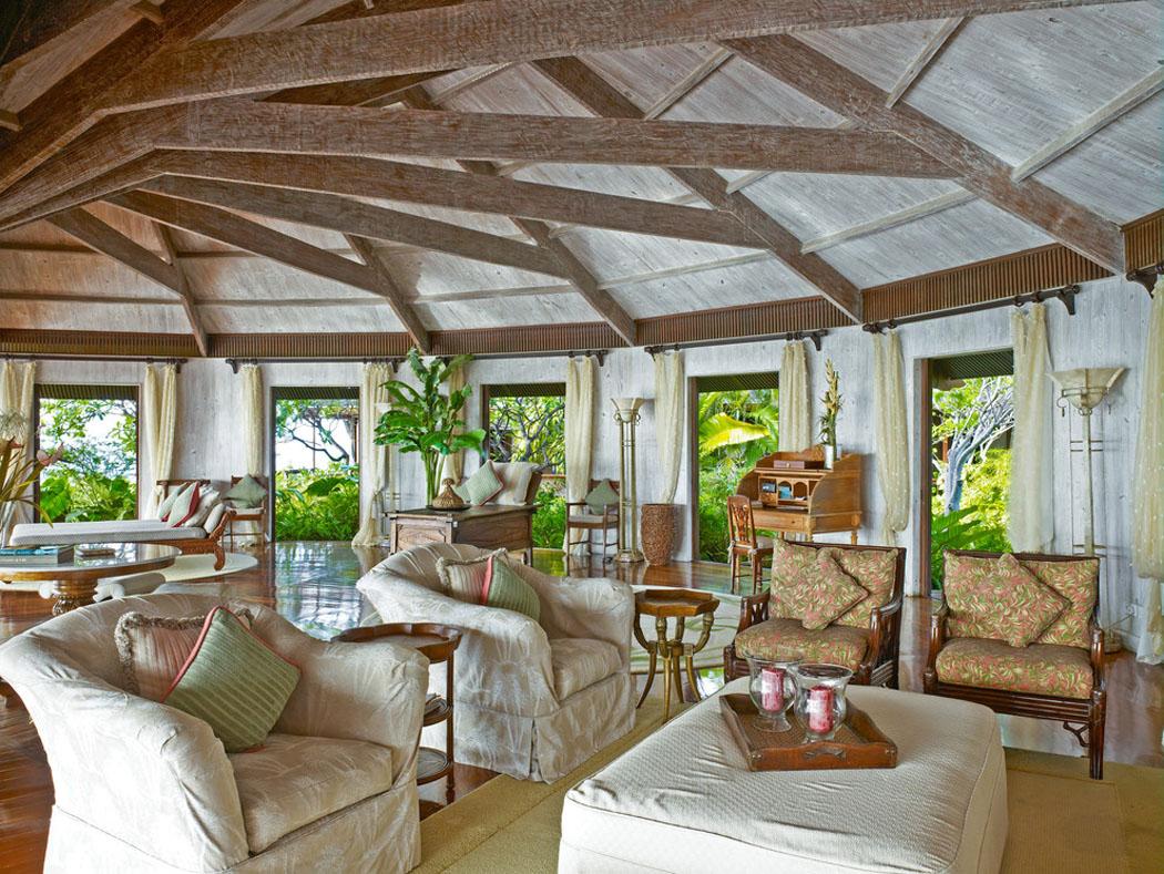 Originale villa de vacances sur la c te du sud des tats unis vivons maison - Villa de vacances vogue interiors ...