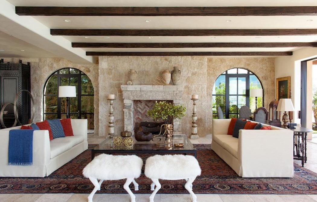 un ranch am ricain modernis californien l int rieur. Black Bedroom Furniture Sets. Home Design Ideas