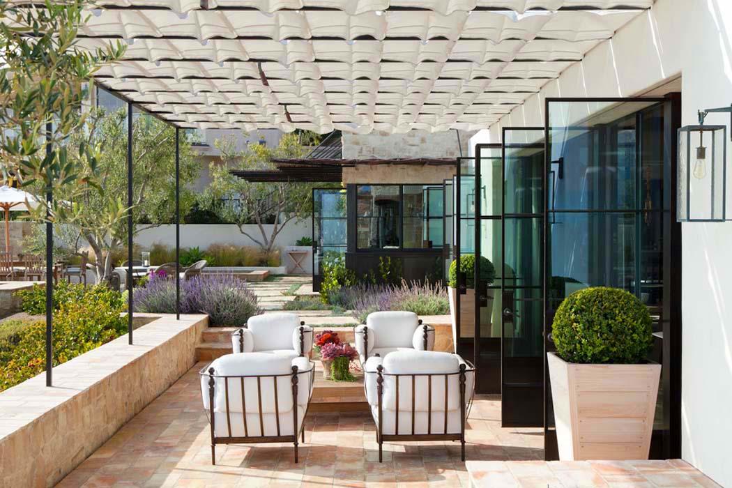 Agr able r sidence de vacances sur la c te californienne - La contemporaine residence de plage las palmeras ...