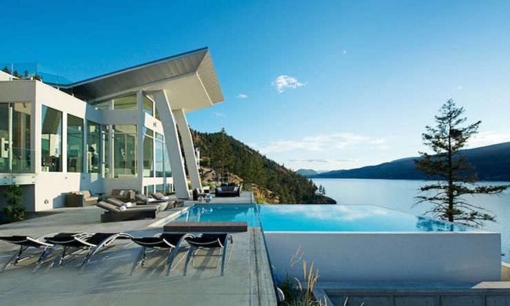 Magnifique R Sidence De Luxe Au Bord D Un Lac Au Canada Vivons Maison