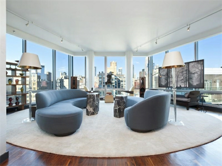 immobilier de luxe la vue panoramique sur manhattan. Black Bedroom Furniture Sets. Home Design Ideas