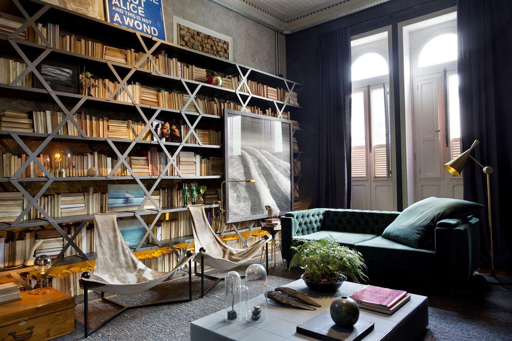 Un int rieur clectique pour la r novation de ce logement - Interieur eclectique appartement sobrado studio ...