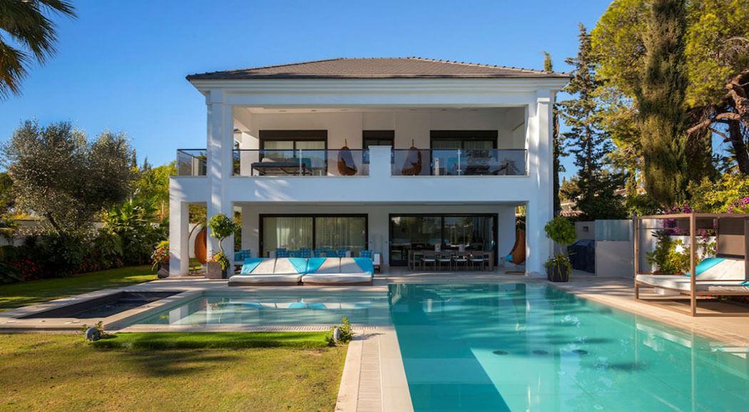 Magnifique villa louer pour des vacances ensoleill es et de tout confort marbella vivons for Site de villa a louer
