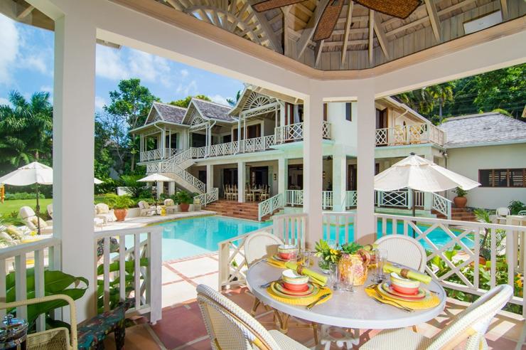 Villa de r ve pineapple tryall en jama que vivons maison for Villa de reve