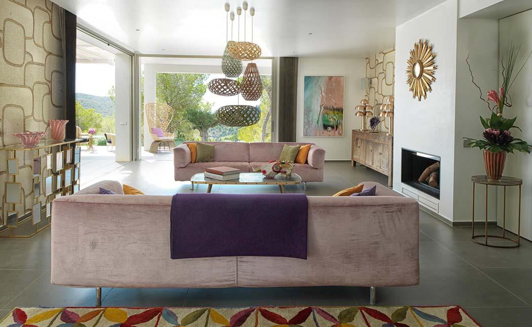 Magnifique villa de r ve l architecture contemporaine sur l le d ibiza v - Villa de reve espagne ...