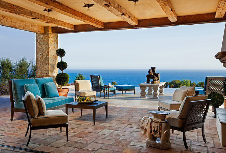 Villa De Luxe Style Mditerranen Malibu Vivons Maison