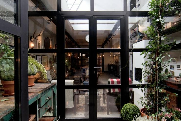 Loft Aux Touches Très Masculines à Amsterdam Vivons Maison