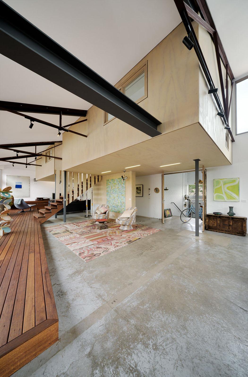 Sol En Beton Interieur rénovation loft – projet créatif et original au centre de