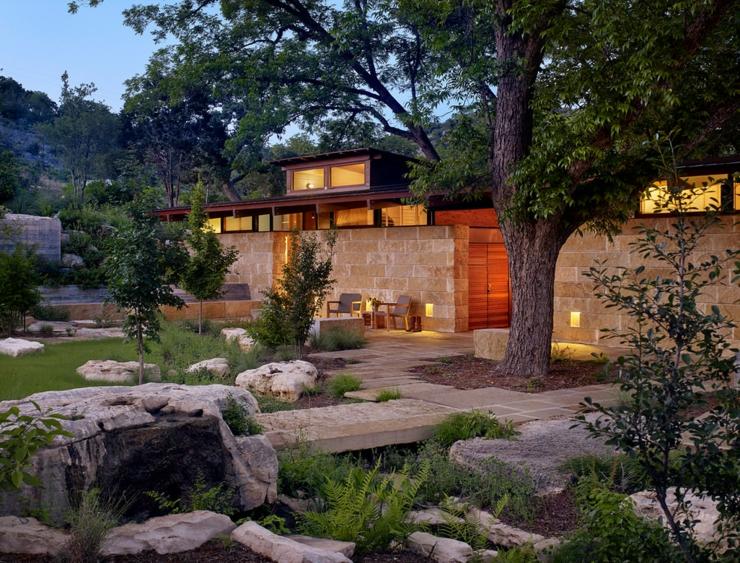 Beau ranch am ricain situ houston texas vivons maison for Maison en bois de luxe