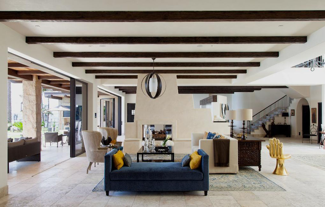 Un ranch am ricain modernis californien l int rieur luxueux et rustique vivons maison for Interieur maison americaine