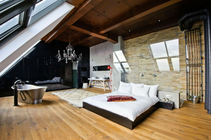 Loft industriel au design int rieur bien clectique for Campo co interieur