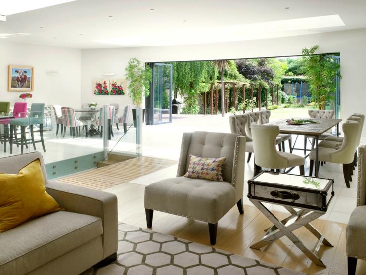 Belle maison l int rieur clectique londres vivons maison - Interieur eclectique grove design ...