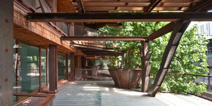 Appartement cologique dans un immeuble vert turin - Appartement de standing burgos design ...