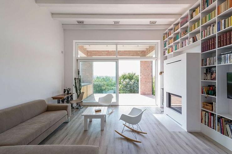 Le Séjour Toute En Longueur De Cette Maison Design