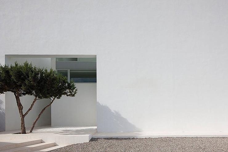 La Villa De Luxe Moderne Se Devoile : Villa de luxe infinity la beaut� en blanc immacul� vivons maison