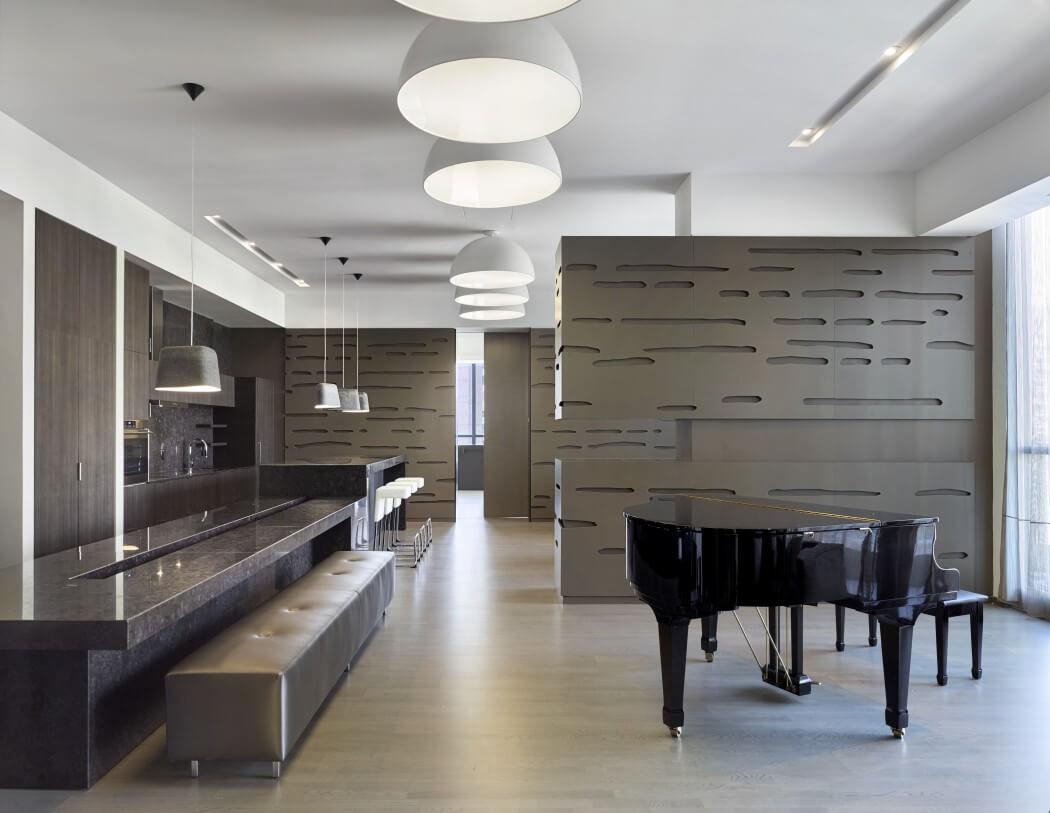 Immeuble de prestige offrant un intérieur luxueux au centre ville ...